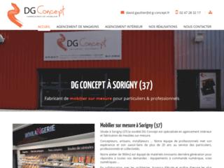 DG Concept spécialiste de la Menuiserie et Agencement