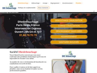Détails : L'entreprise de dégorgement DHE Debouchage
