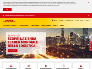 DHL - Corriere Espresso - Ricerca Spedizioni - Rintraccia spedizione