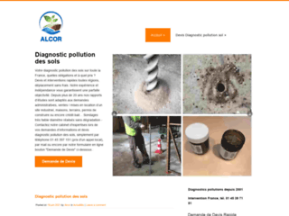 Détails : Diagnostic pollution des sols