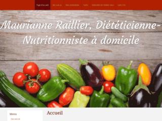Maurianne Raillier, diététicienne à domicile