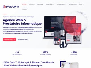DIGICOM-IT - Création de site internet à Lyon