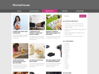 Aperçu du site Digital e-Shop