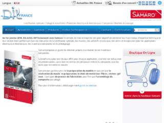 Capture du site http://www.dilfrance.com