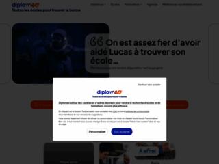 Aperçu du site Diplomeo