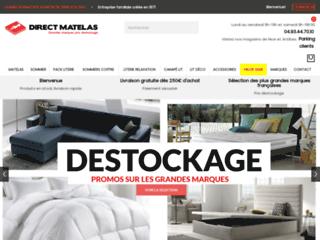 Site Officiel Direct Matelas