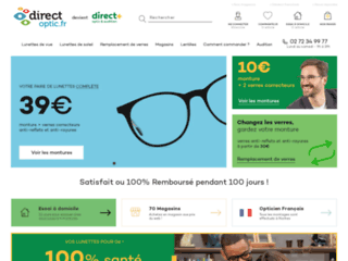 Direct-Optic votre Opticien en ligne