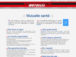 Mutuelle assurance complémentaire santé sur http://www.directmutuelle.fr