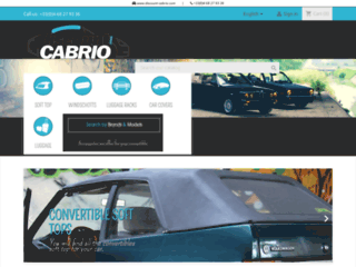 Discount-cabrio.com : Votre Spécialiste Équipements & Accessoires pour cabriolets