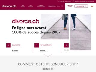 Détails : Divorce suisse