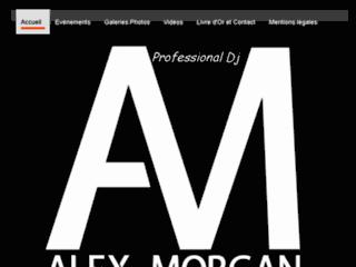 Détails : Dj Alex Morgan, soirées France et Belgique
