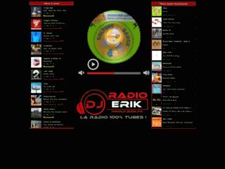 Capture du site http://www.djerik.fr