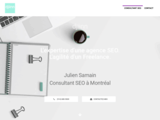 Djiinn.com - Consultant SEO à Montréal