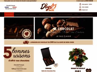 Capture du site http://www.dlys-couleurs.com