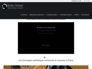 Chirurgien esthétique à Paris - Cabinet du docteur Jean-Louis Séchaud