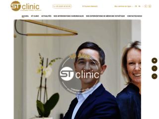Clinique de chirurgie esthétique à Tournai ST Clinic