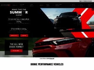 Dodge Veicoli: Costruisci il tuo Crossover, SUV, auto, o Minivan - Dodge