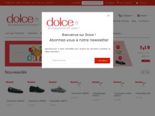 Capture du site http://www.dolce.fr/