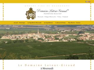 vins du domaine Latour Giraud