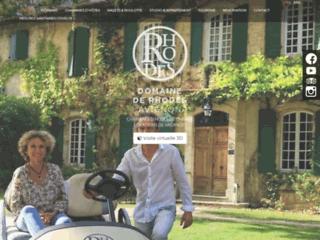 Chambres d'hotes & Location de vacances à  Avignon:  domainederhodes.com