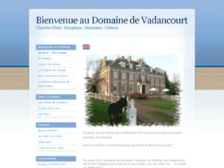 Domaine de Vadancourt pour un week end romantique au château en amoureux dans l'Aisne. Balnéo