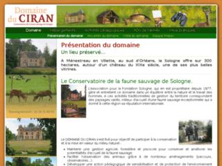 Week end Loiret: Domaine du Ciran en Sologne à  Ménestreau en Villette