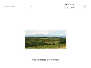 Domaine Trilles - Vente de vin du Roussillon Tresserre 66 -