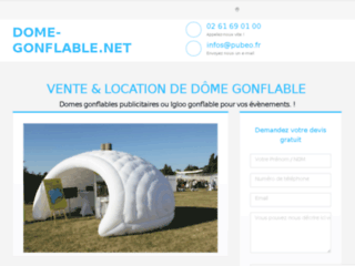 Dome-gonflable.net