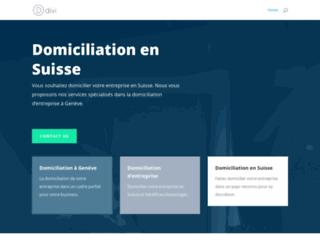 Détails : Domiciliation en Suisse