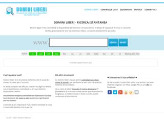 Verifica domini web liberi | Domini-liberi.it