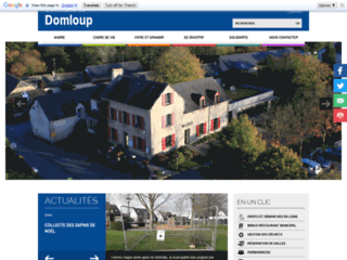 Site de la commune de Domloup