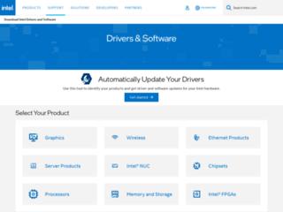 Supporto e Download Ufficiale Driver INTEL