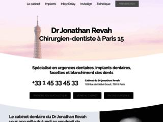 Aperçu du site Dr Jonathan Revah