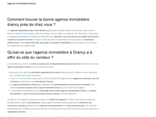 agence immobiliere drancy