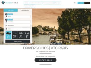 Le transport de personnes haut de gamme avec Driverschics