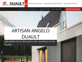 Couverture : Artisan DUAULT à Le Mans 72