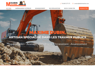 Entreprise de Travaux Publics et Gros Oeuvre Dubin Maxime