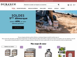 Durance - Parfums et Bougies, soins du corps - la provence, terroir et produits naturels