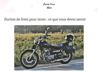 Détails : DURITE FREIN MOTO