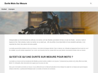 Détails : Durite moto sur-mesure
