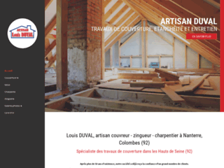 Couverture : Artisan DUVAL à Nanterre 92