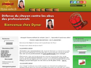 Détails : Dyna-mite.fr - vous prévient contre les arnaques des entreprises