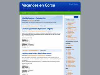 Location de villas et de maisons en Corse, Hôtel en Corse sur E-corse.net