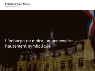 Détails : Echarpes.maire.top