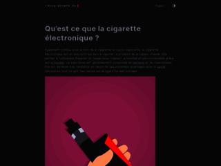 Détails : Ecig-Arrete.fr - vente de cigarettes électroniques