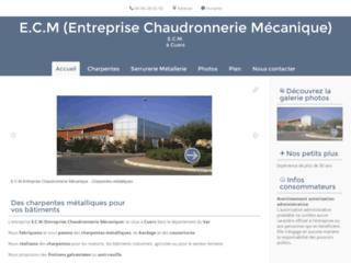 Détails : E.C.M Charpentes Métalliques