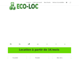 Eco-Loc, location de mobilier