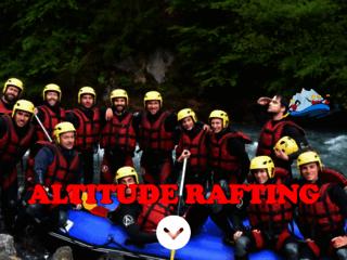Capture du site http://eco-rafting.com