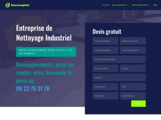 Détails : Entreprise de nettoyage indutriel