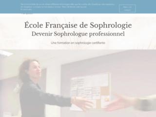 Ecole française de sophrologie à Montpellier sur http://www.ecole-formation-sophrologie.fr